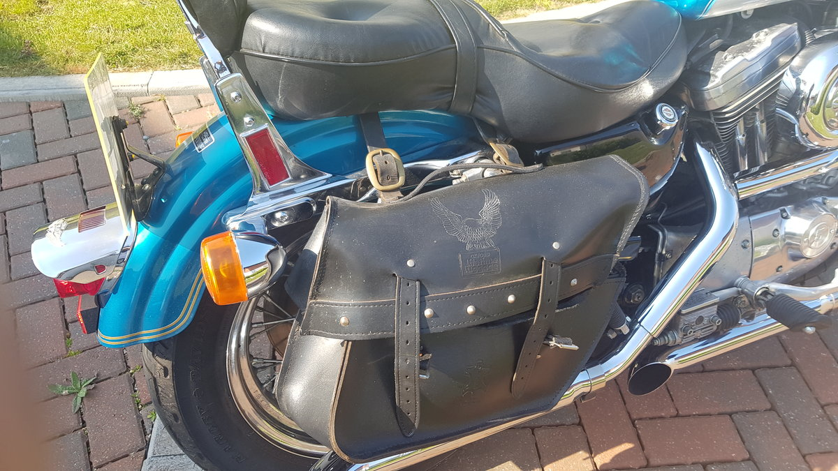 1995 Harley Davidson 883 with loads of extras may P/X For Sale (picture 5 of 6)