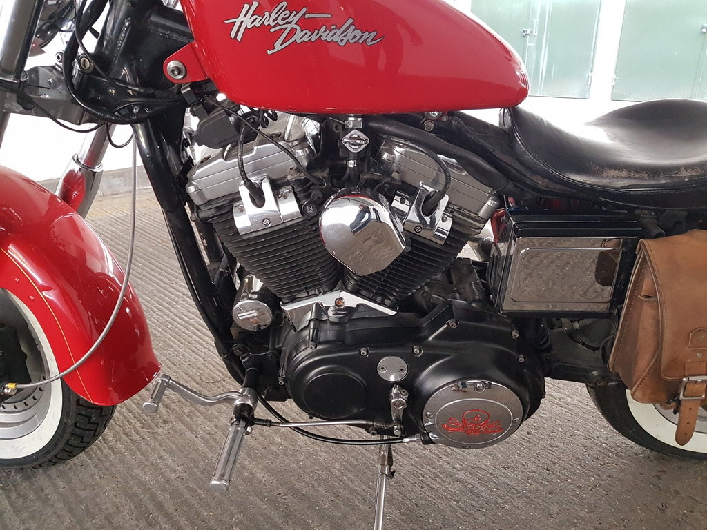 2003 XL 883C Sportster Anniversary Edition For Sale (picture 2 of 6)
