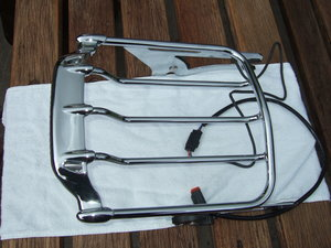Harley Airwing Detachable Luggage Rack