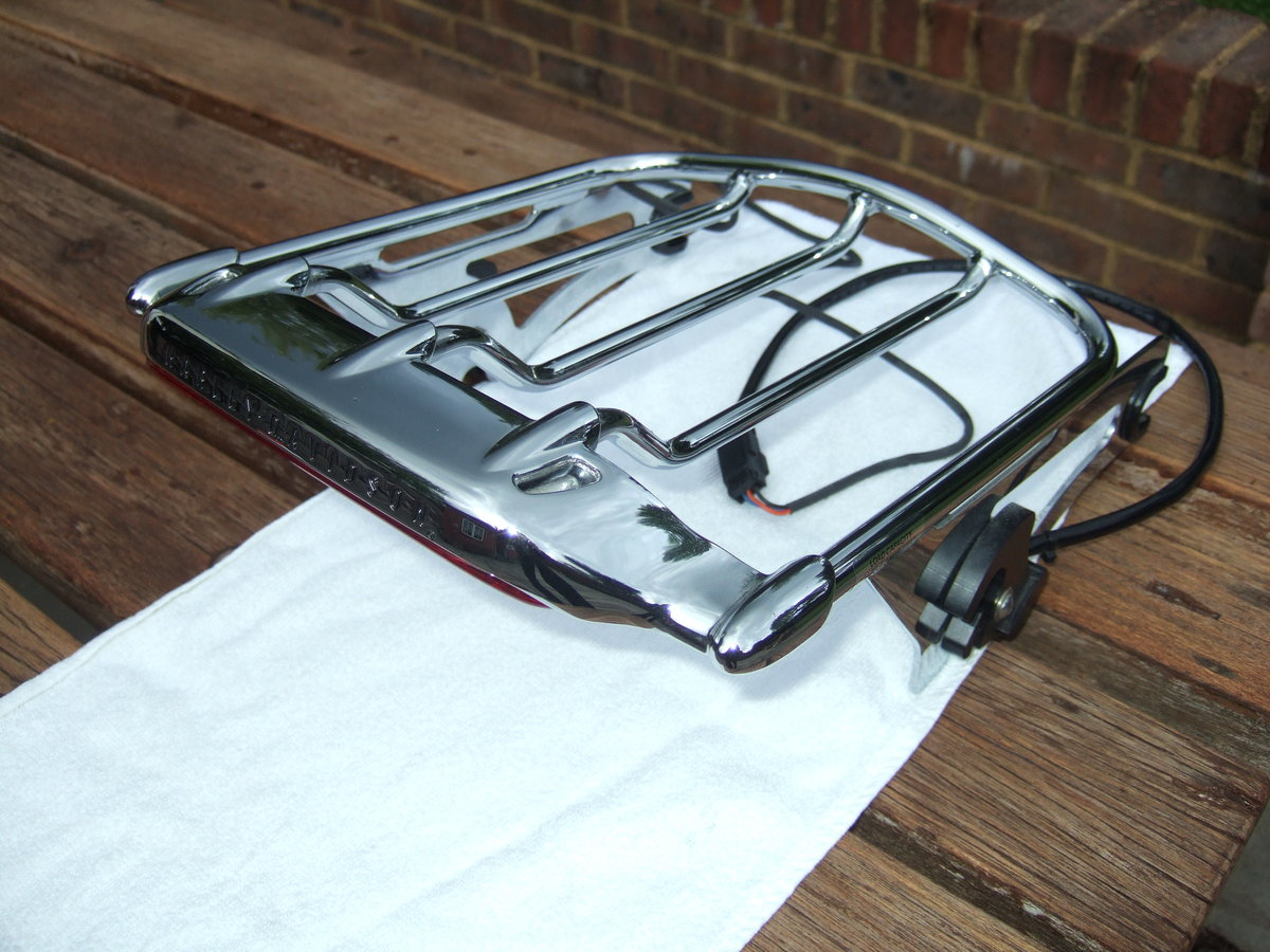 2018 Harley Airwing Detachable Luggage Rack For Sale (picture 2 of 3)