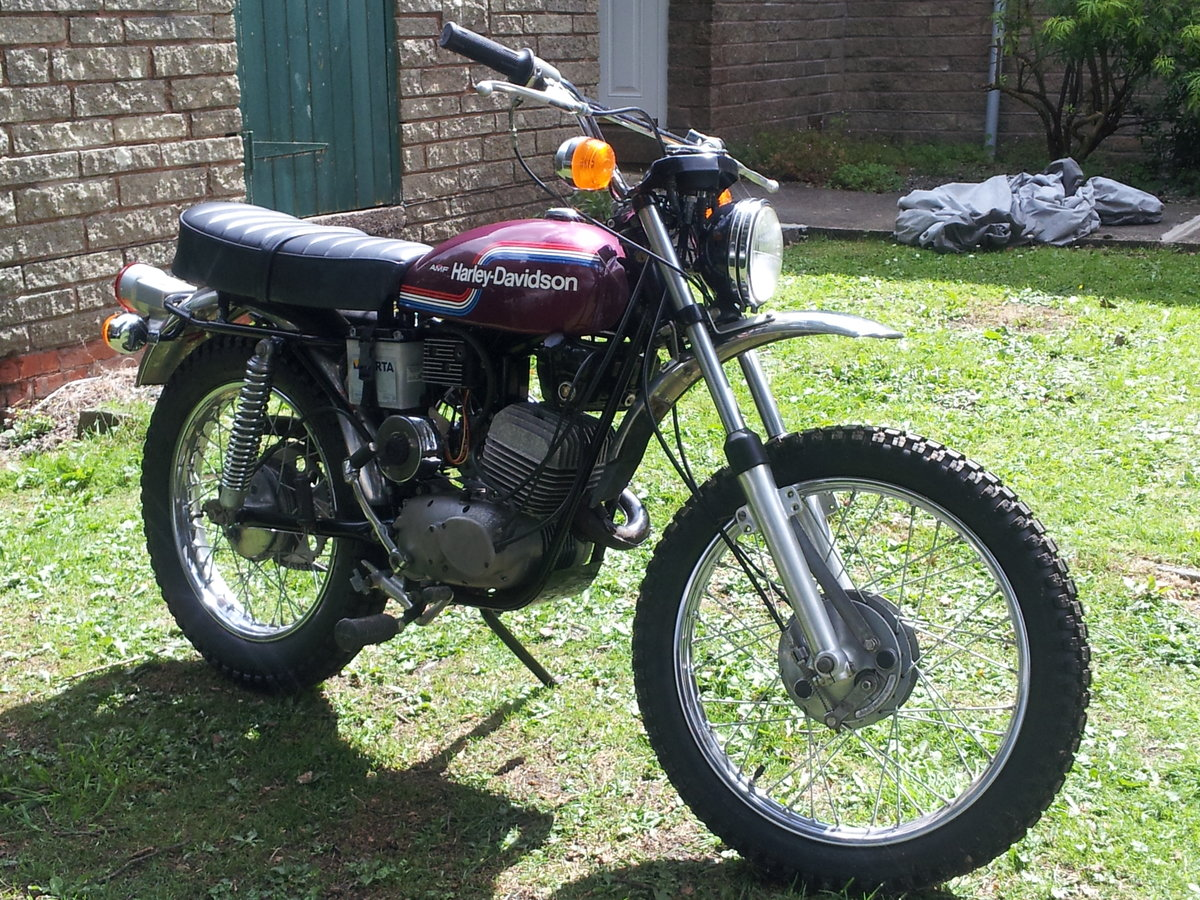1974 AMF 125cc historical vehicle For Sale (picture 1 of 6)