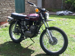 AMF 125cc historical vehicle