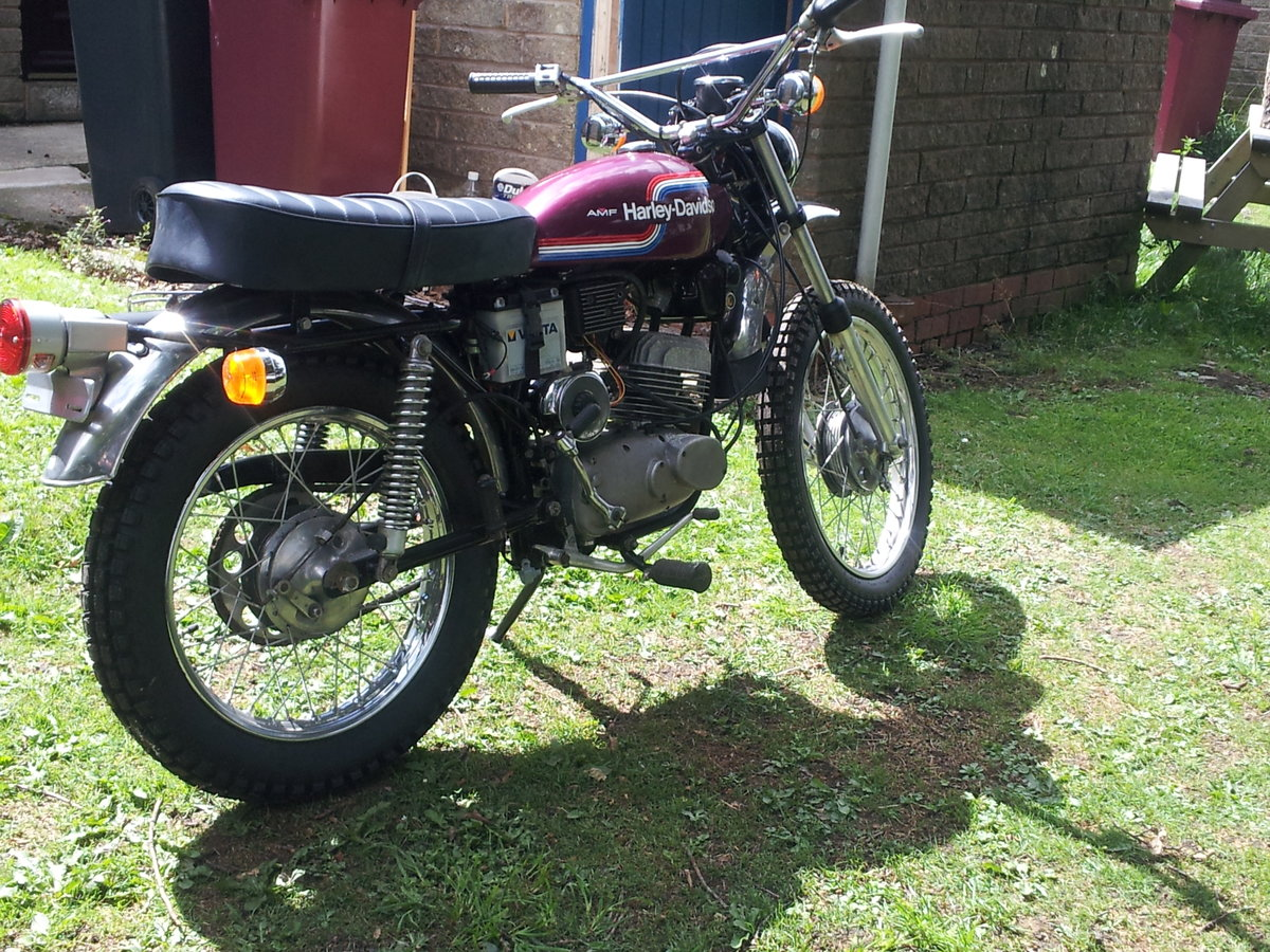 1974 AMF 125cc historical vehicle For Sale (picture 2 of 6)