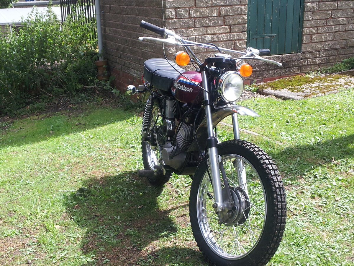 1974 AMF 125cc historical vehicle For Sale (picture 4 of 6)