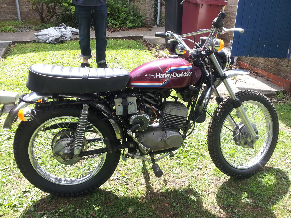 1974 AMF 125cc historical vehicle For Sale (picture 6 of 6)