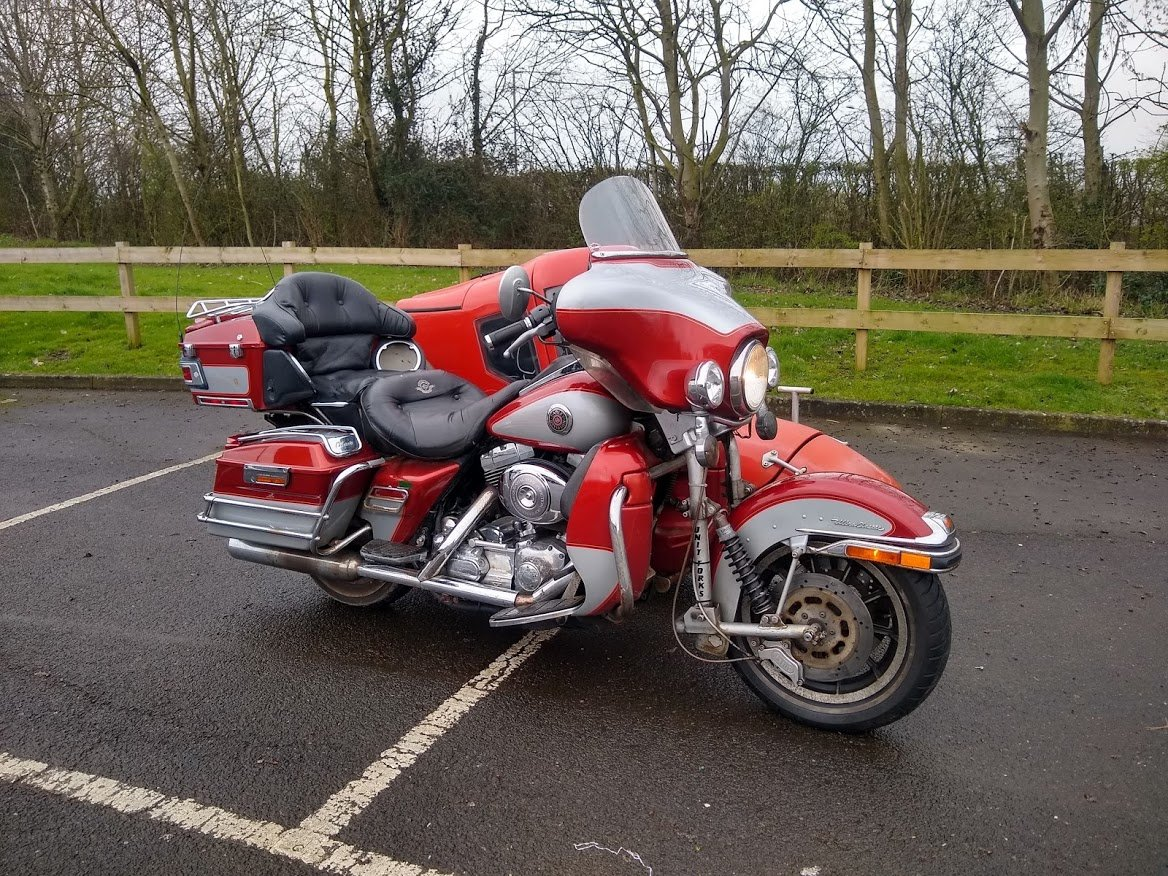 1999 Harley Davidson with Sidecar for auction 16th-17th July SOLD by Auction (picture 1 of 6)