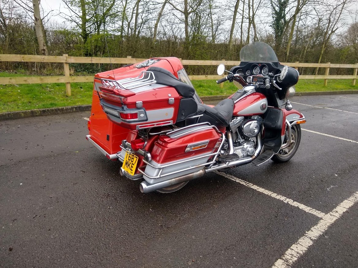 1999 Harley Davidson with Sidecar for auction 16th-17th July SOLD by Auction (picture 2 of 6)
