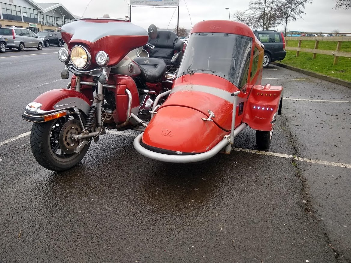 1999 Harley Davidson with Sidecar for auction 16th-17th July SOLD by Auction (picture 4 of 6)