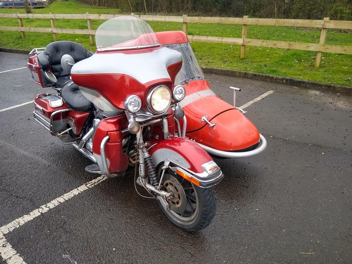 1999 Harley Davidson with Sidecar for auction 16th-17th July SOLD by Auction (picture 5 of 6)
