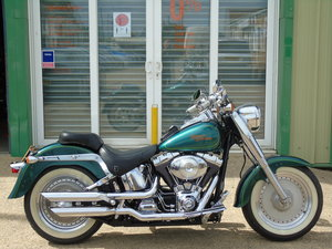 Harley-Davidson FLSTF Fat Boy 1 Owner From New 5900 Miles