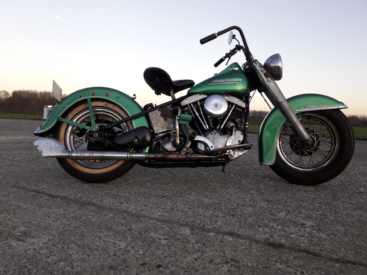 1952 Harley Davidson Panhead Hydra Glide For Sale (picture 1 of 6)