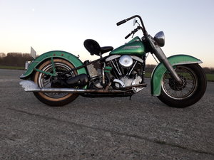 Harley Davidson Panhead Hydra Glide