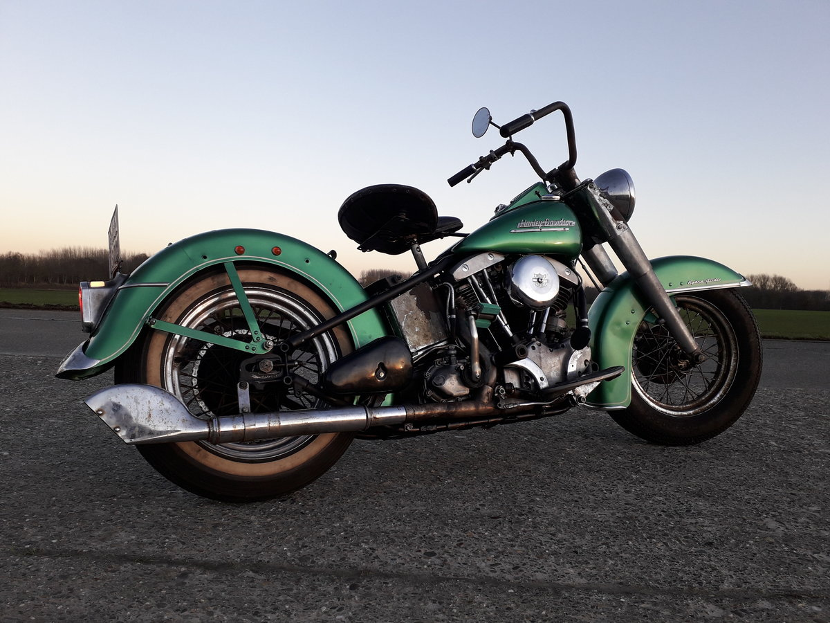1952 Harley Davidson Panhead Hydra Glide For Sale (picture 4 of 6)