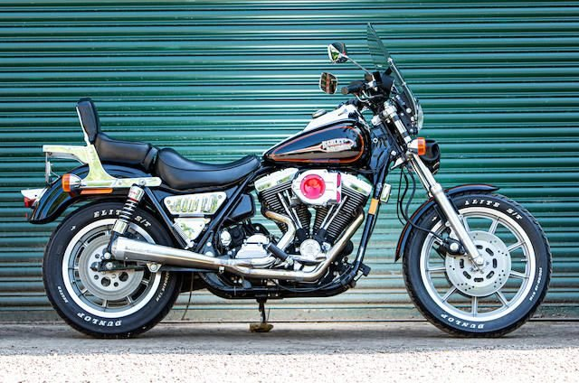 1993 Harley-Davidson 80ci FXSR-SP Low Rider Sport SOLD by Auction (picture 1 of 1)