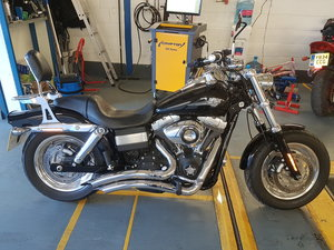 Harley Davidson fat bob FXDF Dyno