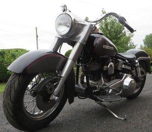 Harley shovel. Graphite n black. Stunning