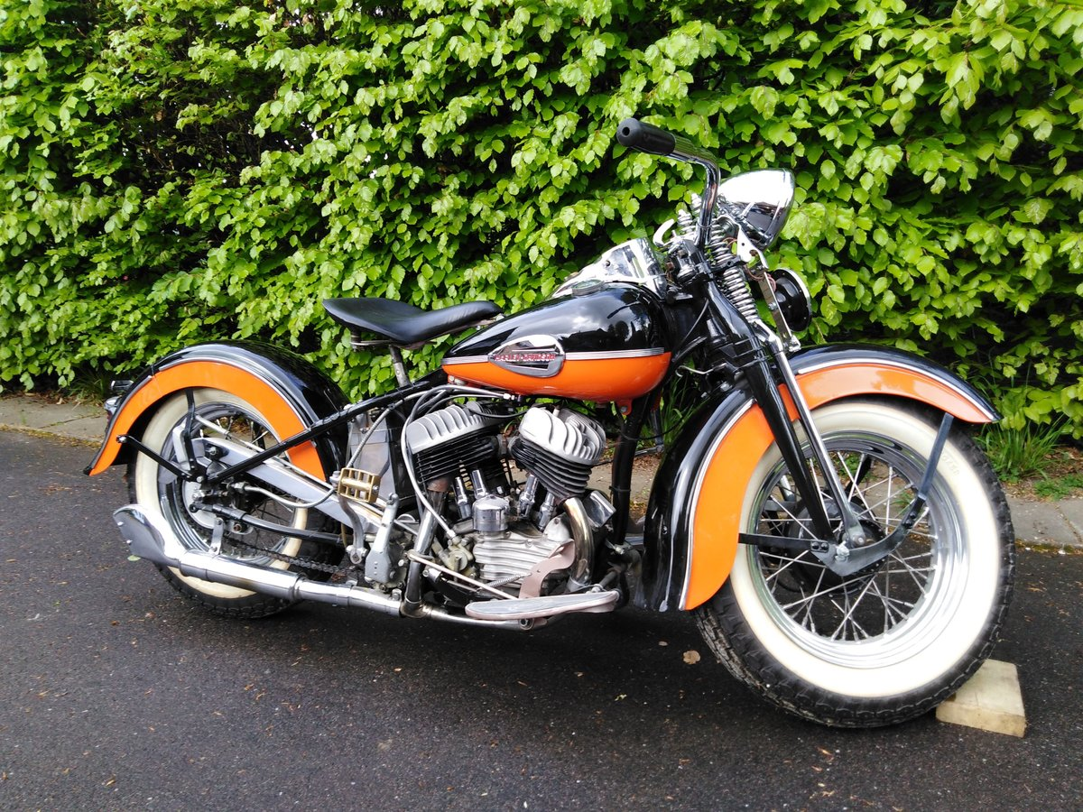1942 Fine example of Harley SOLD (picture 1 of 6)