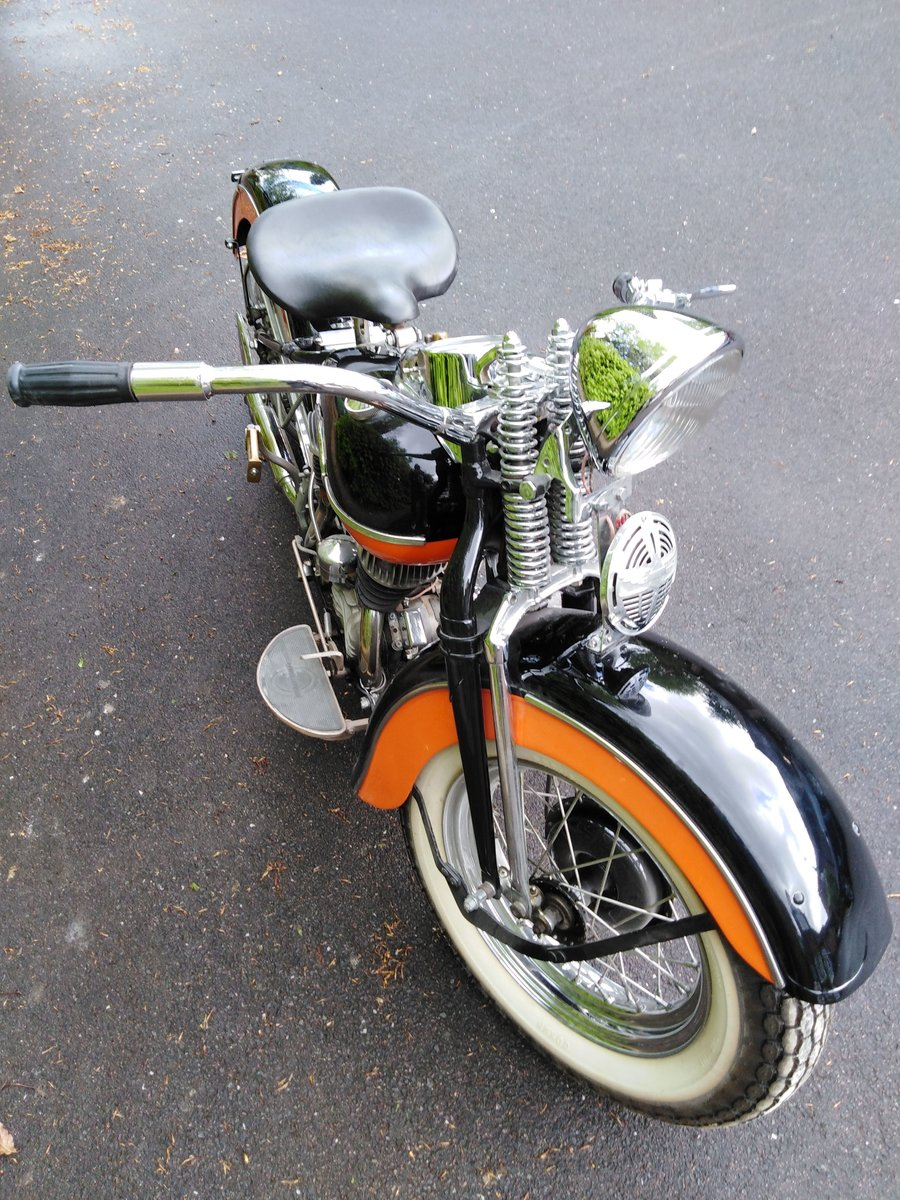 1942 Fine example of Harley SOLD (picture 2 of 6)