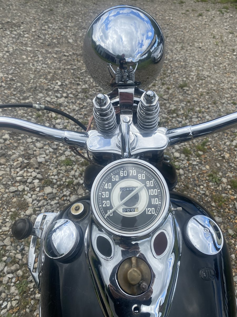 1942 Fine example of Harley SOLD (picture 6 of 6)