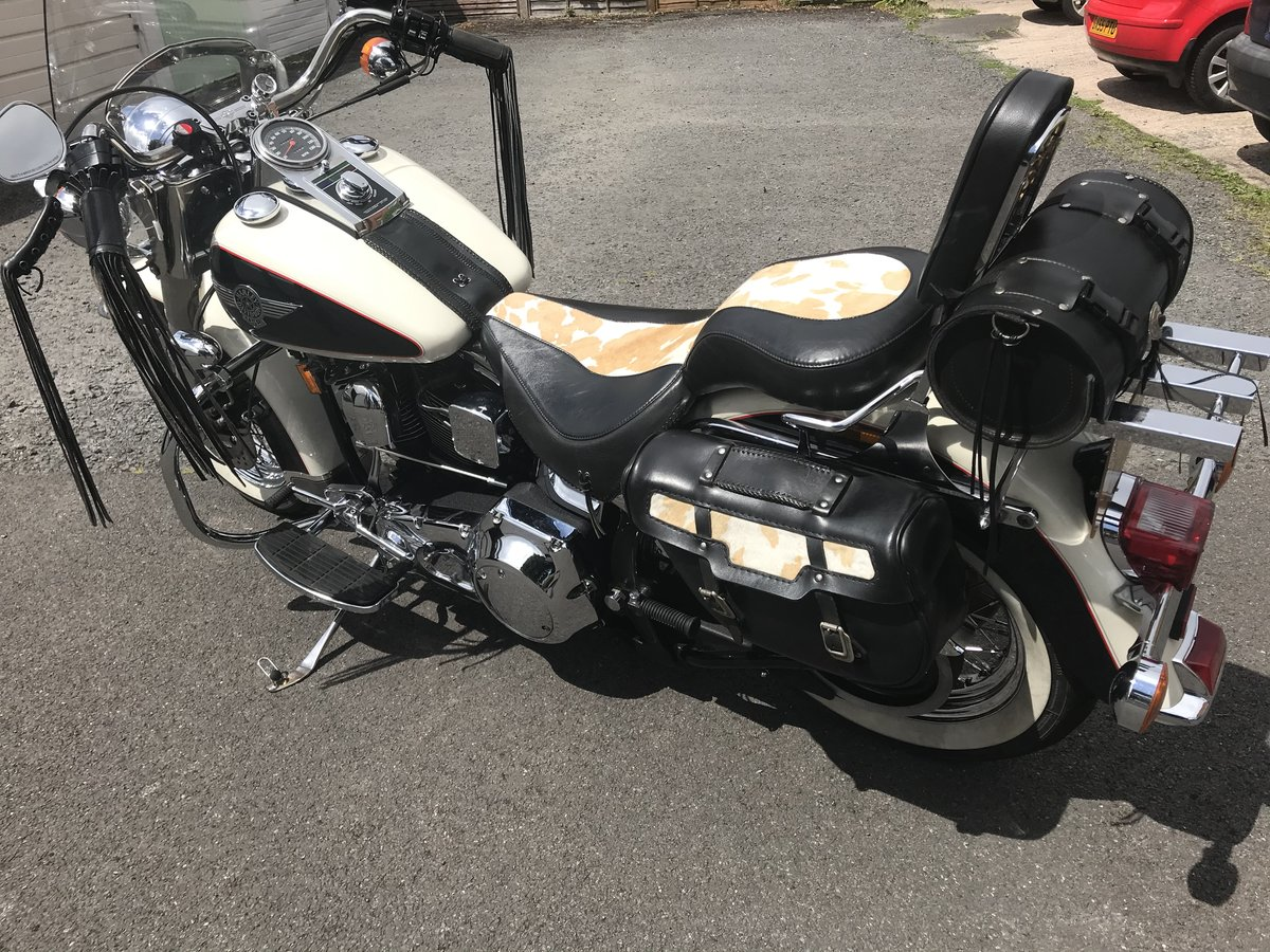 1992 Harley Davidson. Softail  Nostalgia .Cowglide  For Sale (picture 6 of 6)