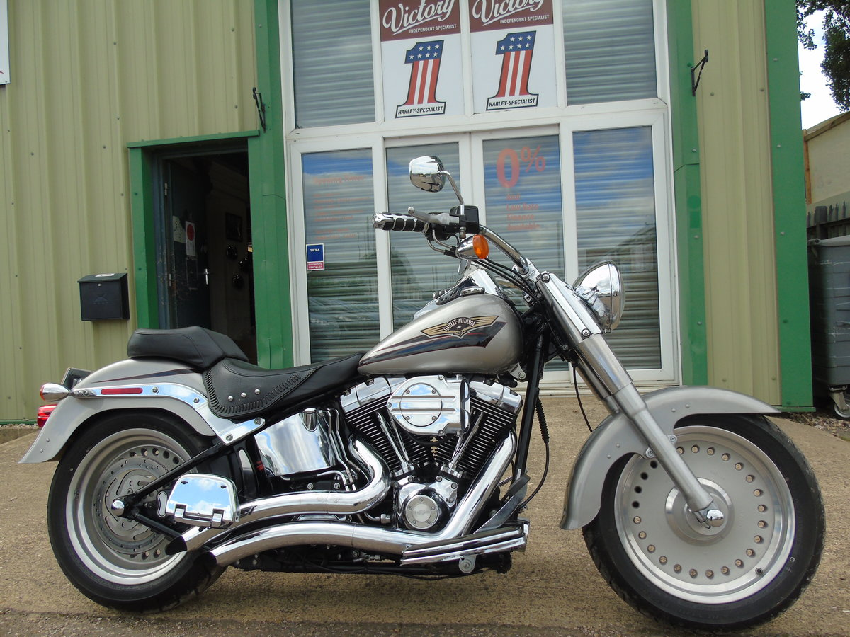 2008 Harley-Davidson FLSTF 1584cc Fat Boy ABS Service History  For Sale (picture 1 of 6)