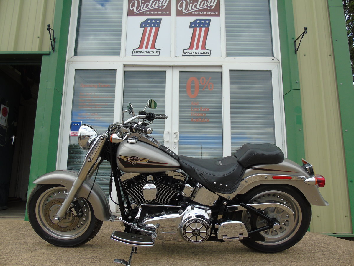 2008 Harley-Davidson FLSTF 1584cc Fat Boy ABS Service History  For Sale (picture 2 of 6)