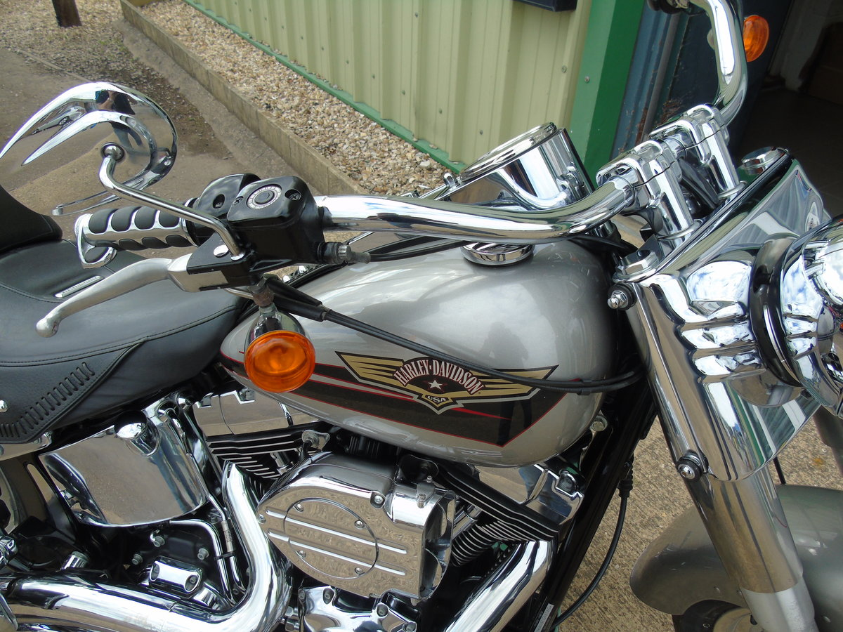 2008 Harley-Davidson FLSTF 1584cc Fat Boy ABS Service History  For Sale (picture 4 of 6)