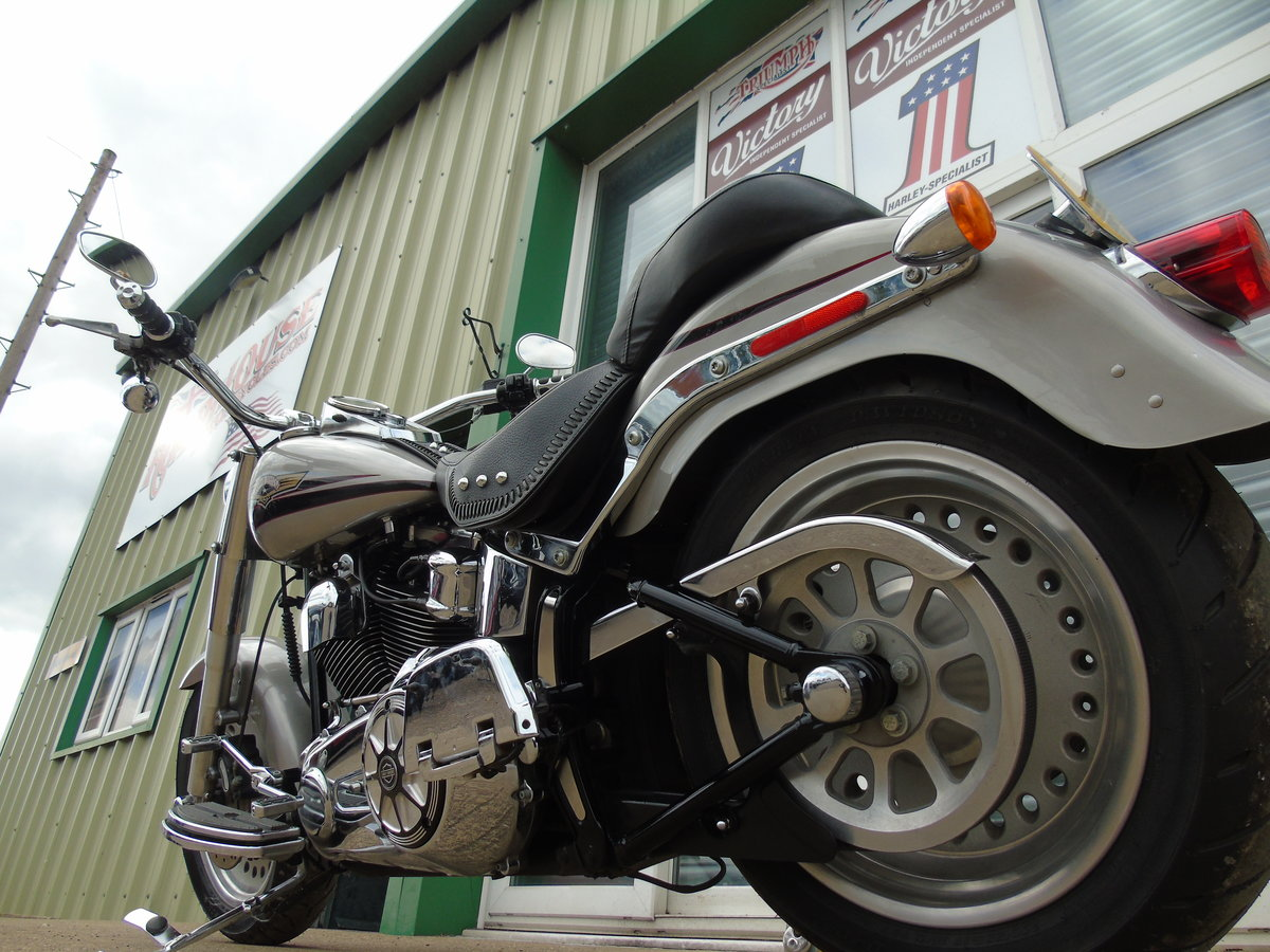 2008 Harley-Davidson FLSTF 1584cc Fat Boy ABS Service History  For Sale (picture 5 of 6)