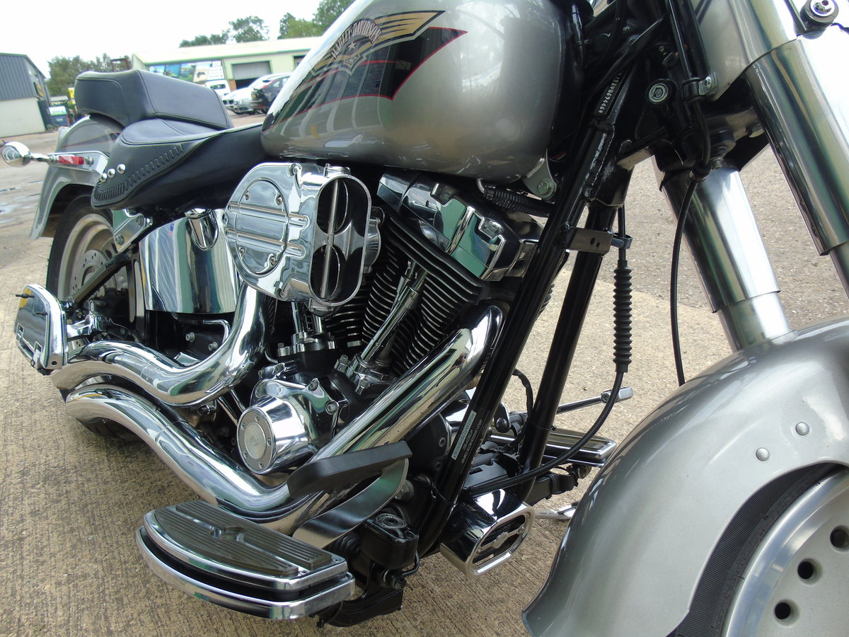 2008 Harley-Davidson FLSTF 1584cc Fat Boy ABS Service History  For Sale (picture 6 of 6)