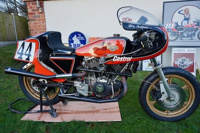 1978 HARLEY-DAVIDSON 998CC XLCR RACING MOTORCYCLE (LOT 375) SOLD by Auction (picture 1 of 1)