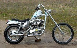 1975 HARLEY-DAVIDSON XLH 1,000CC SPORTSTER CUSTOM (LOT 376)