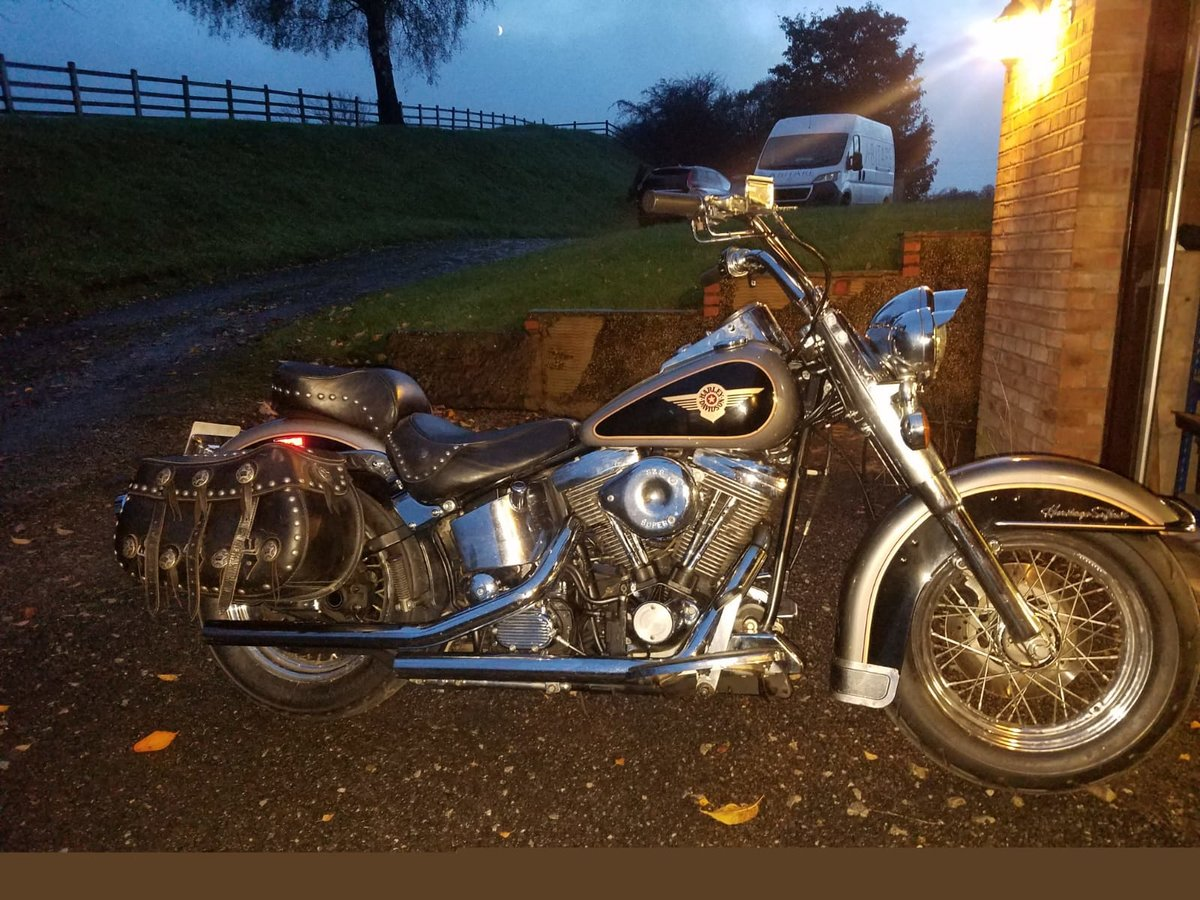 1988 Harley Heritage Softail US import For Sale (picture 1 of 2)