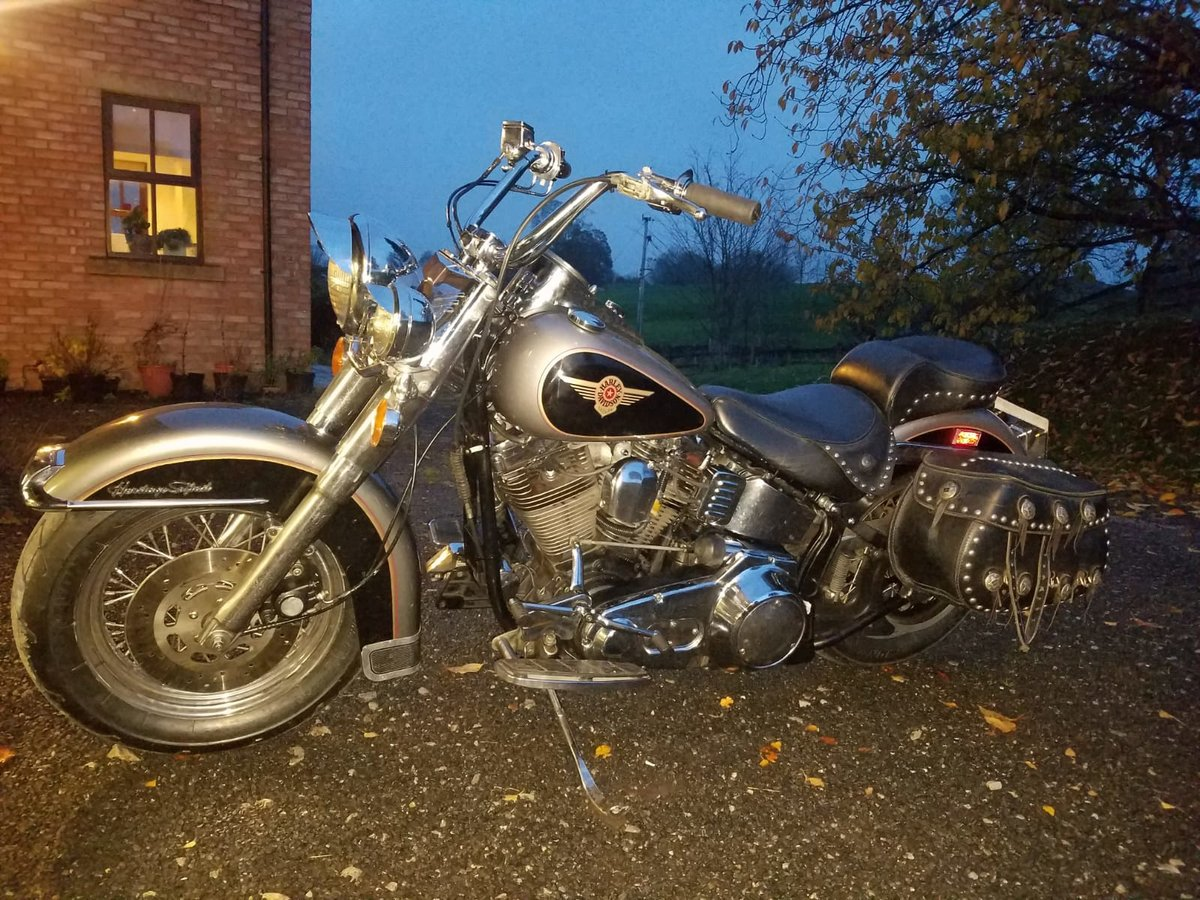 1988 Harley Heritage Softail US import For Sale (picture 2 of 2)