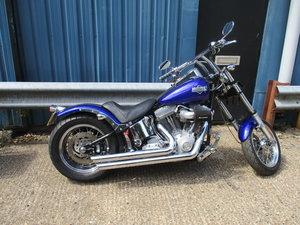 Harley Davidson Softail custom bobber 2003 anniversary