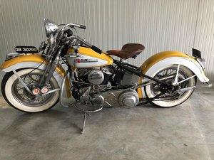 Harley Davidson Model U 1948