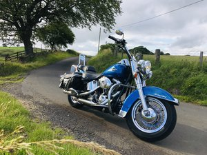 Harley Davidson heritage softail classic 9800miles