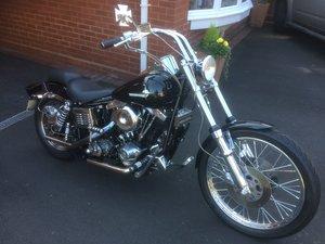 Harley Davidson FXWG Wide Glide.