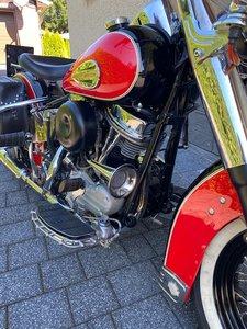 1954 Harley-Davidson Hydra Glide Kickstarter