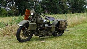 1943 Harley Davidson WLC750cc  in full army trim