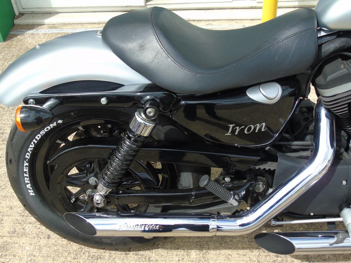 2009 Harley-Davidson XL 883 N Iron, Part Exchange Welcome For Sale (picture 5 of 6)