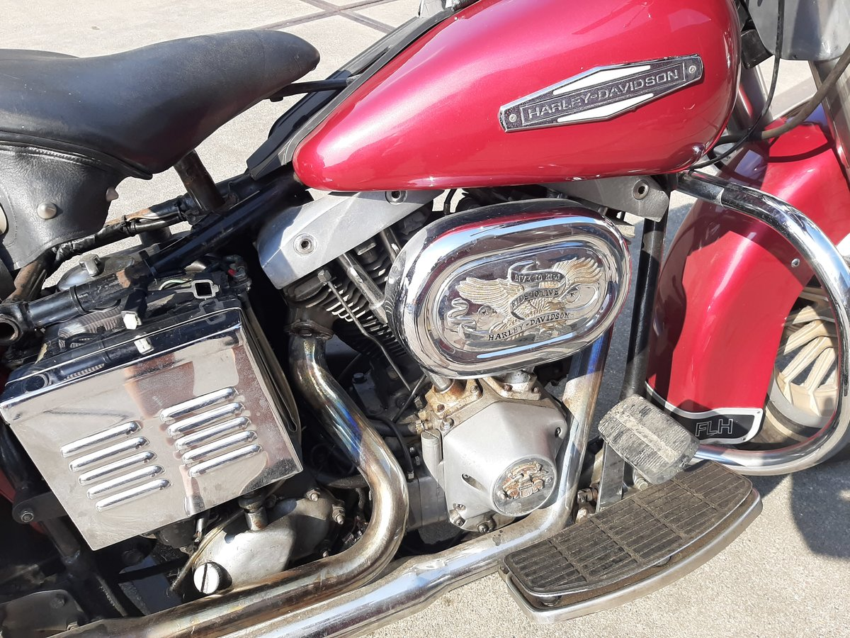 Harley davidson FLH electra glide 1978 SOLD (picture 3 of 6)