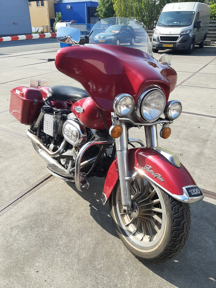 Harley davidson FLH electra glide 1978 SOLD (picture 6 of 6)