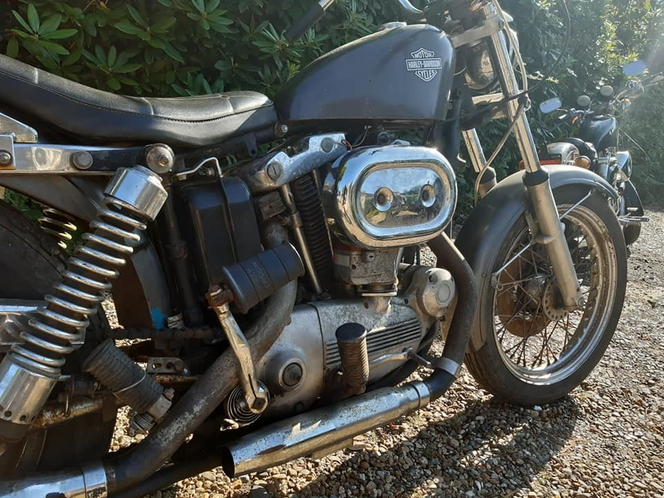 1968 Harley Davidson sportster 900 Ironhead For Sale (picture 4 of 5)