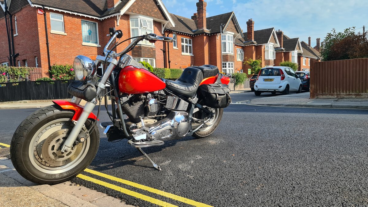 1994 HD-Fatboy -S&S motor For Sale (picture 4 of 6)