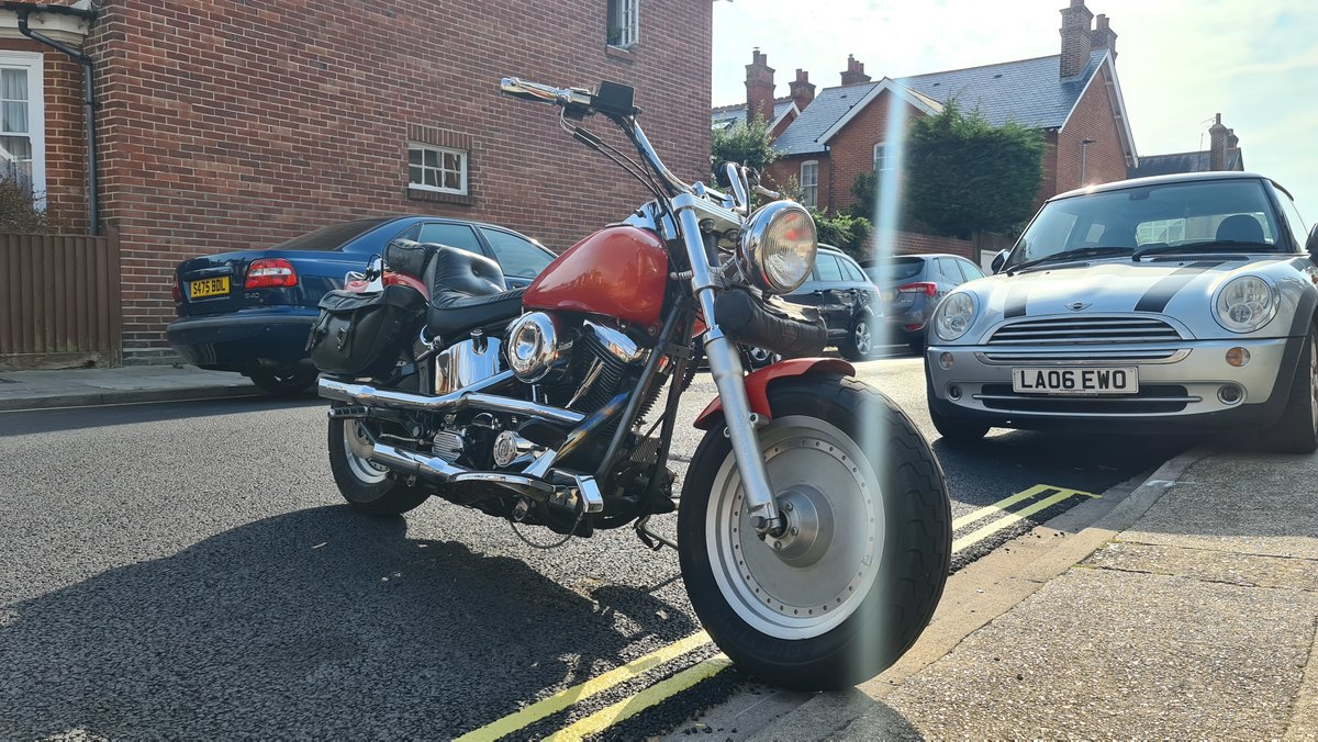 1994 HD-Fatboy -S&S motor For Sale (picture 5 of 6)