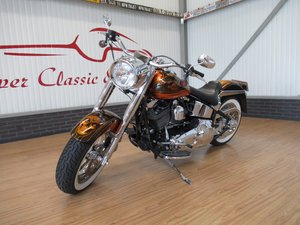 Picture of 2002 Harley Davidson Fat Boy Special Paint Custom Unique!!! For Sale