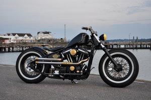 Harley Davidson Custom Bobber Magazine Show Bike