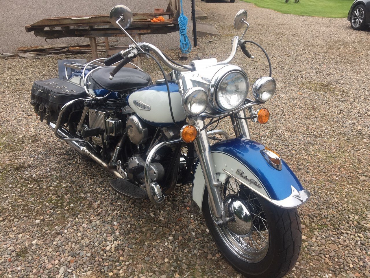 1966 Harley FL 1200 SOLD (picture 6 of 6)
