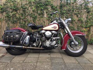Picture of Harley davidson duo glide 1959