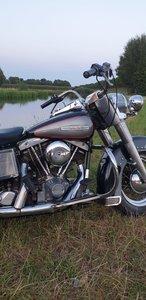 Harley davidson FLH electra glide 1977